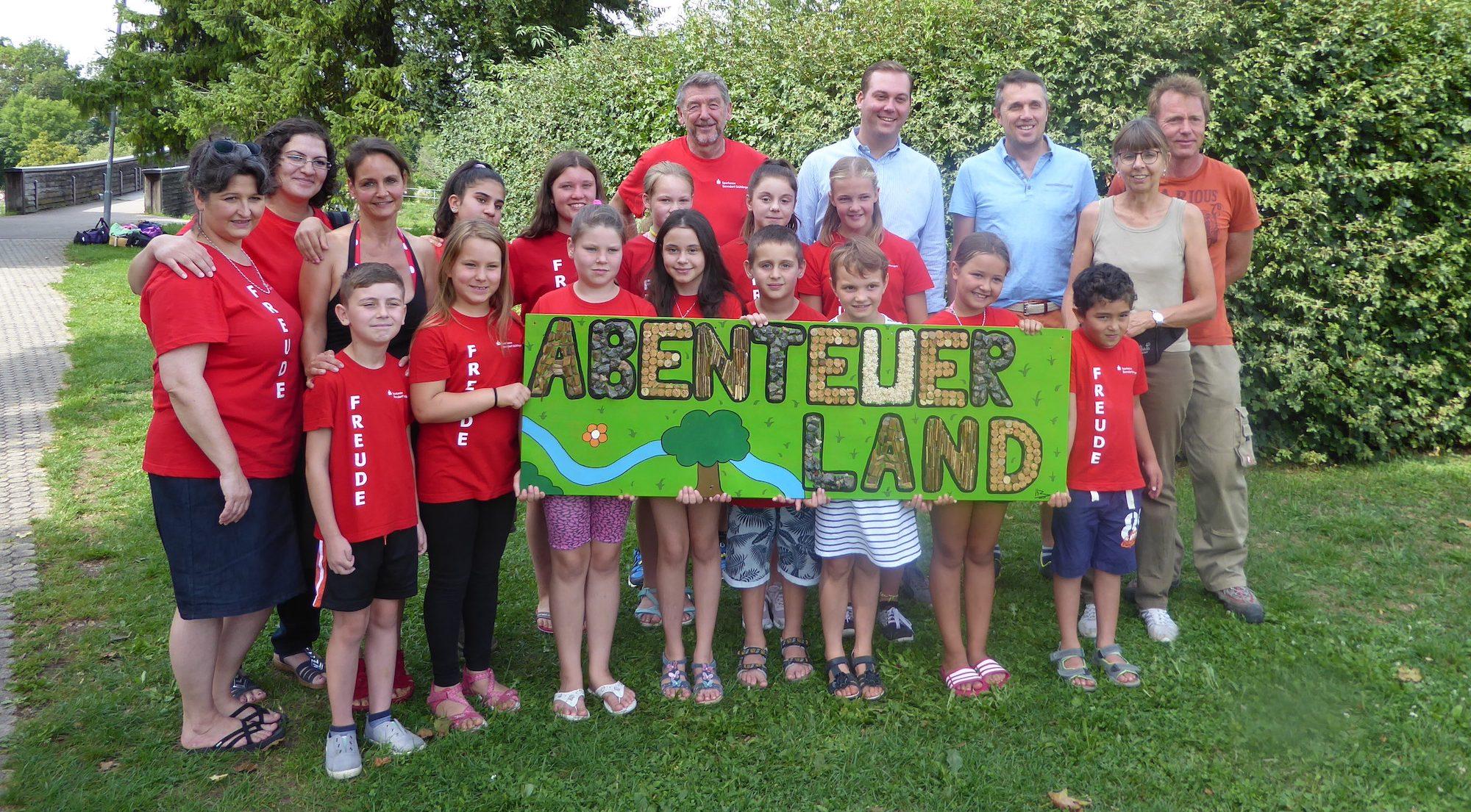 Besuch Felix Schreiner mit Freudekids
