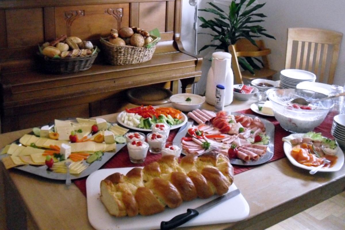 Frühstücksbuffet im FaZ-Café