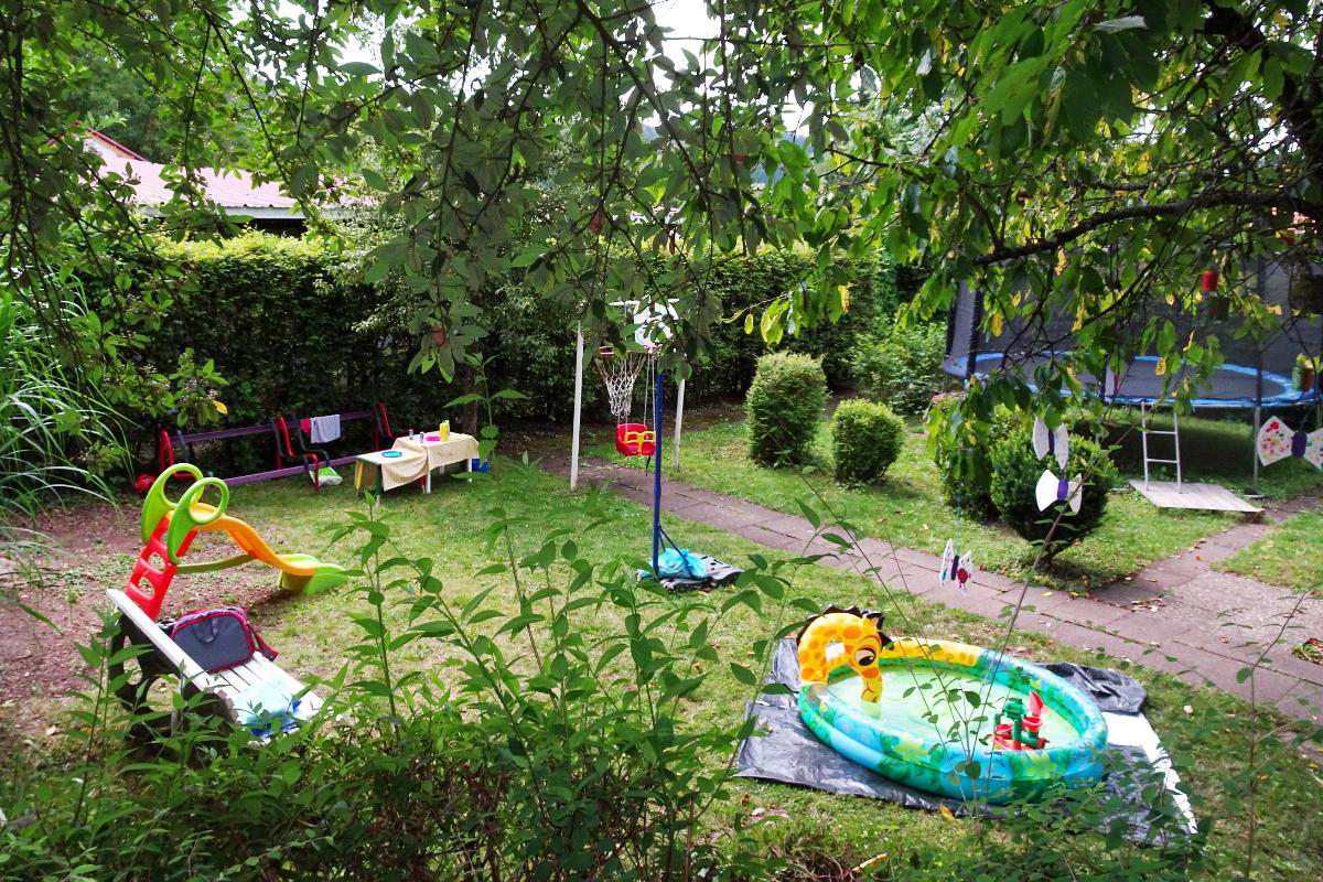 Garten im Familienzentrum