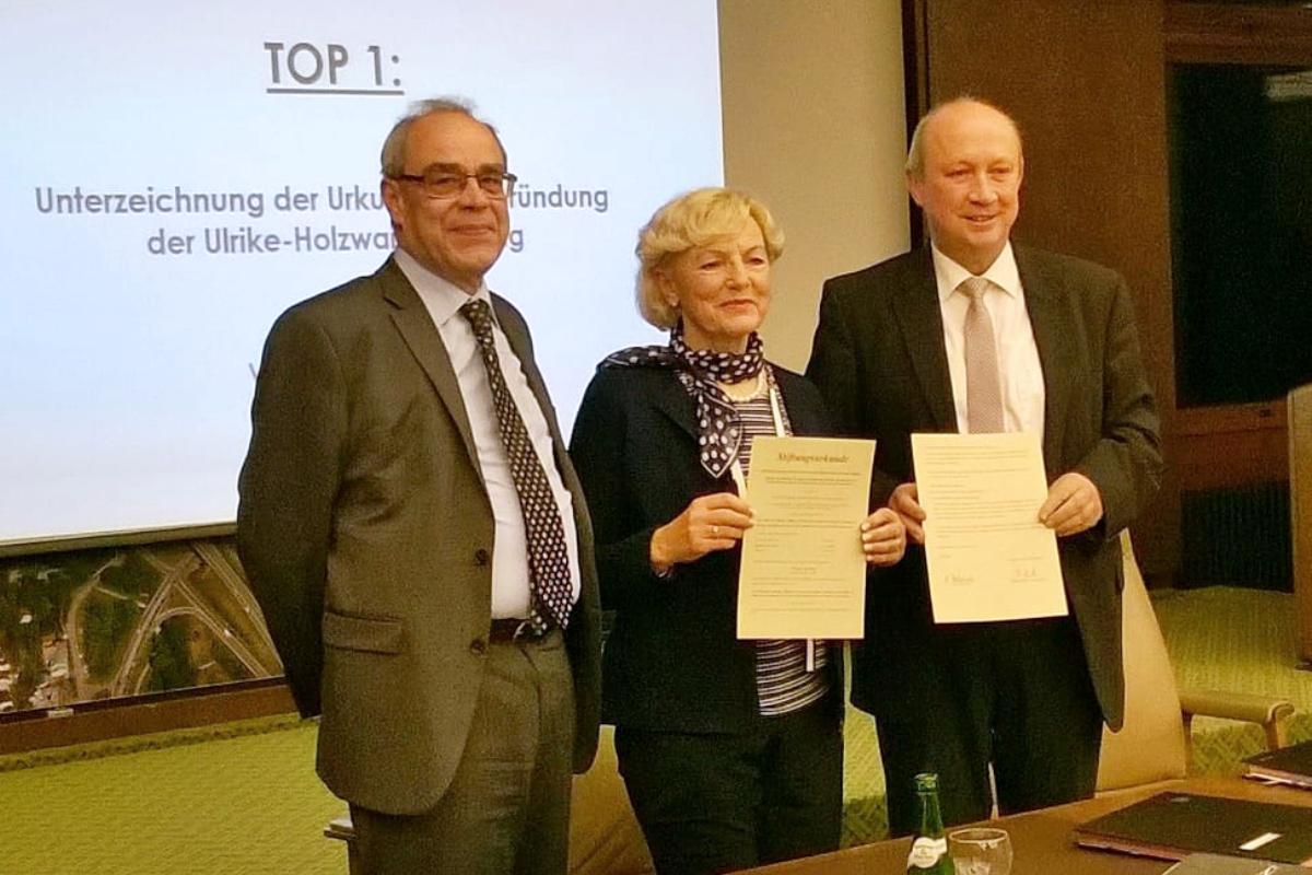 Gründung der Ulrike-Holzwarth-Stiftung