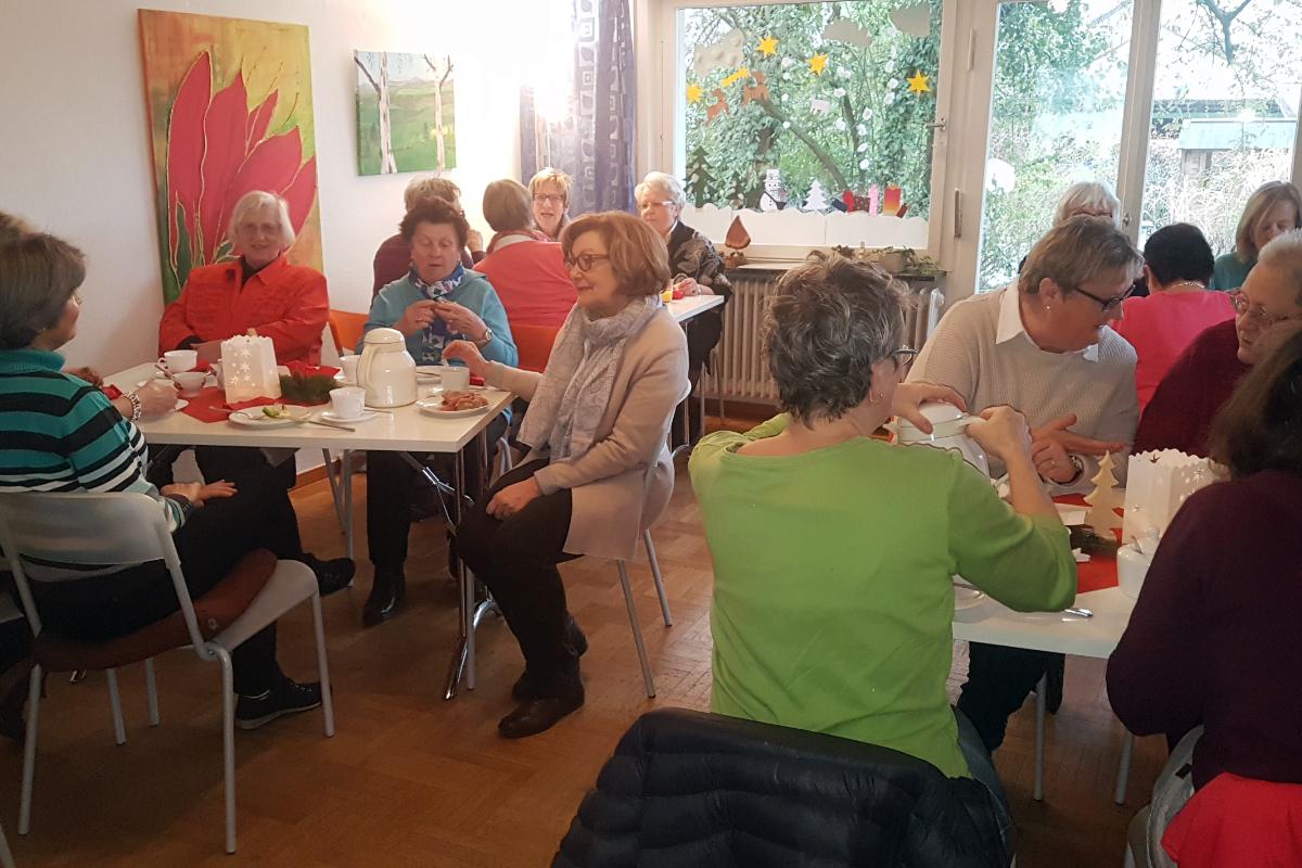 Gemeinsam essen in unserer Caféteria