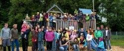 Gruppenfoto im Abenteuerland